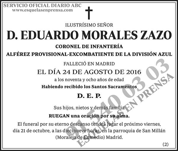 Eduardo Morales Zazo